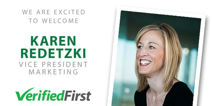 Karen Redetzki, VP Marketing, Verified First