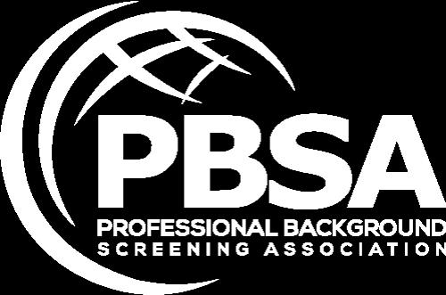 Professional Background Screeners Association PBSA logo