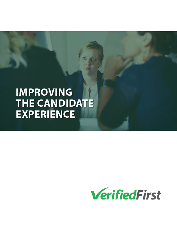 Improving the Candidate Experience White Paper