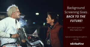 Background Screening Goes Back to the Future - Verified First