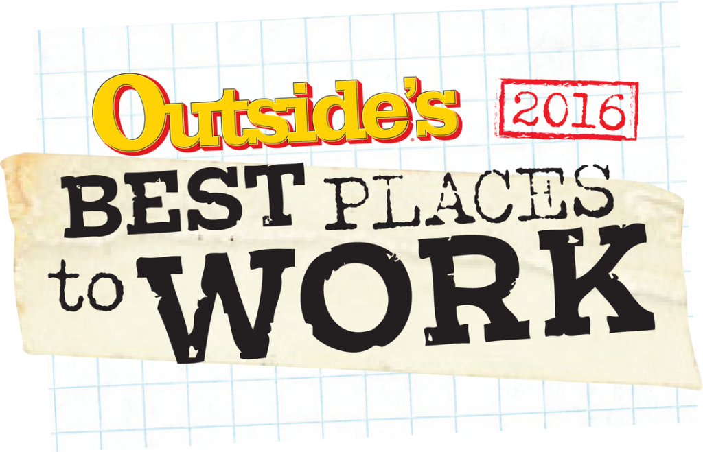 Outside's Best Places to Work 2016