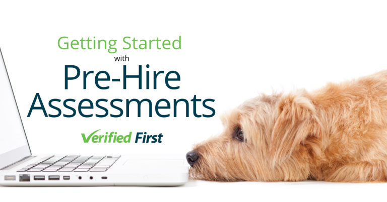 Getting started with pre hire assessments