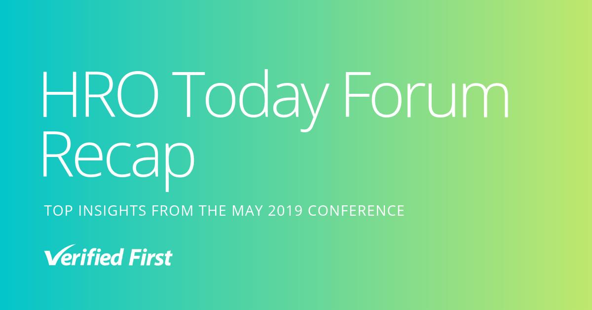HRO Today Forum 2019 Recap
