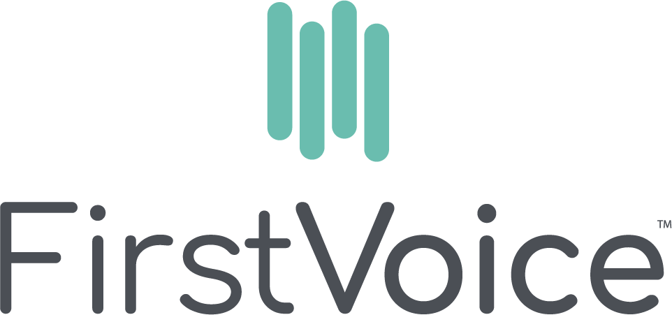 FirstVoice vertical logo