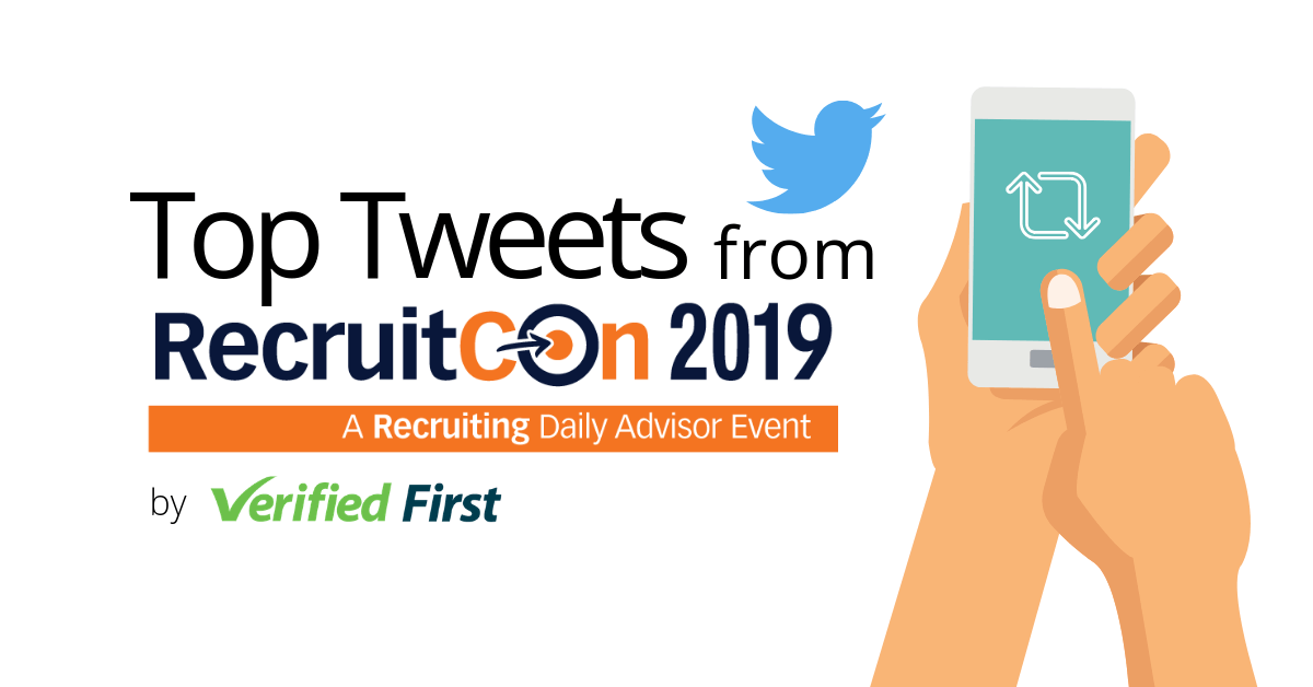 Top Tweets from RecruitCon 2019