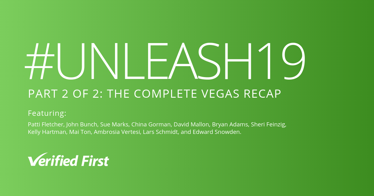 UNLEASH 2019 VEGAS RECAP PART TWO