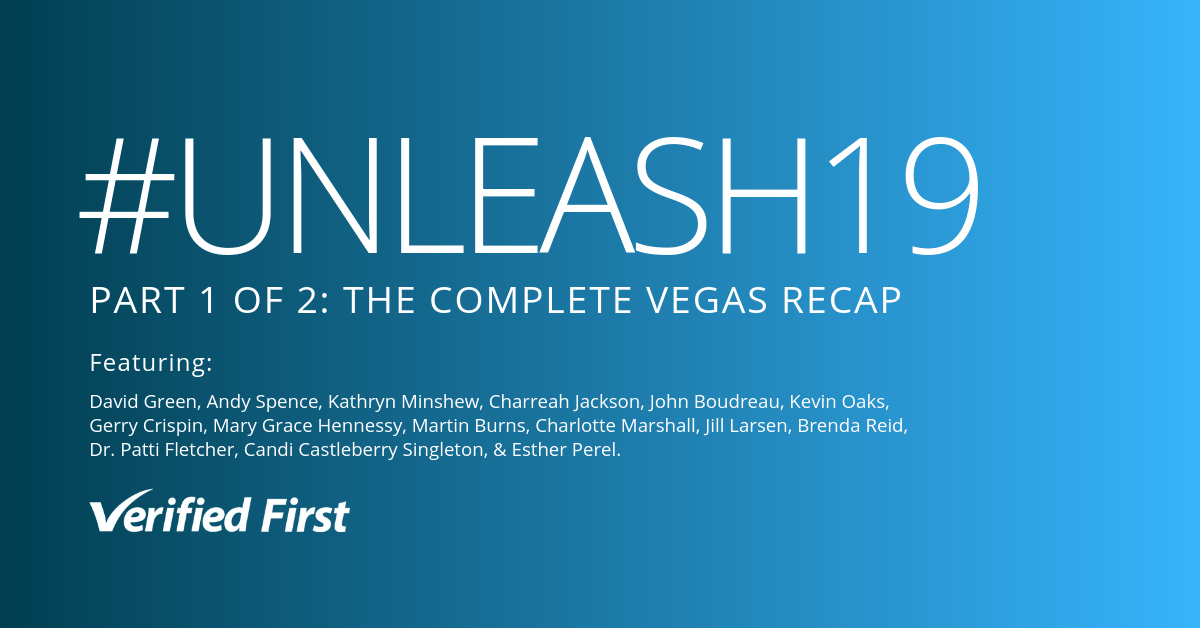 UNLEASH19 Las Vegas Recap | Part One: Diversity, AI and the Future of HR