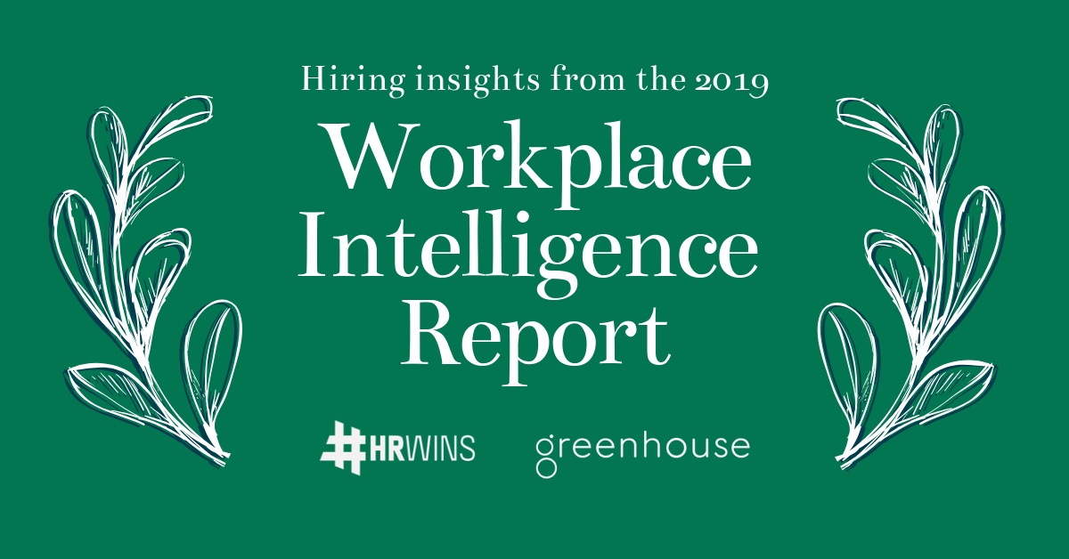 Greenhouse HRWins workplace intelligence report