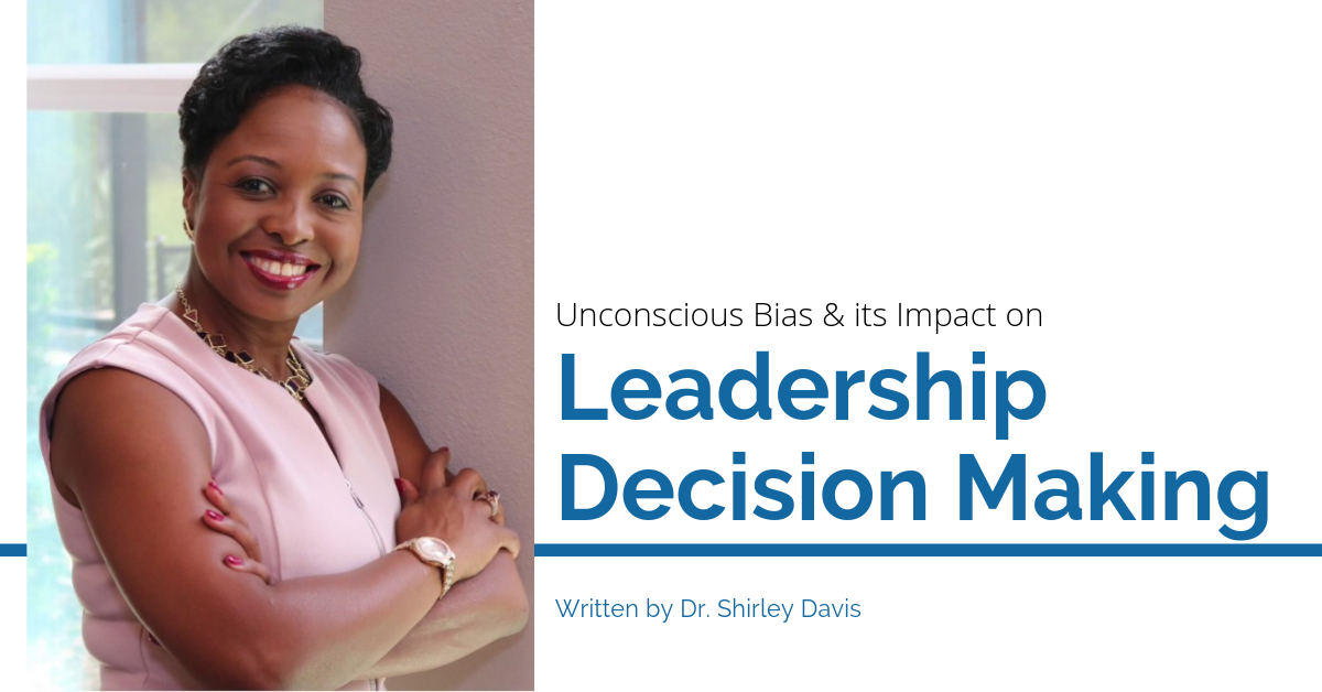 Unconscious Bias and its impact on leadership decision making blog image