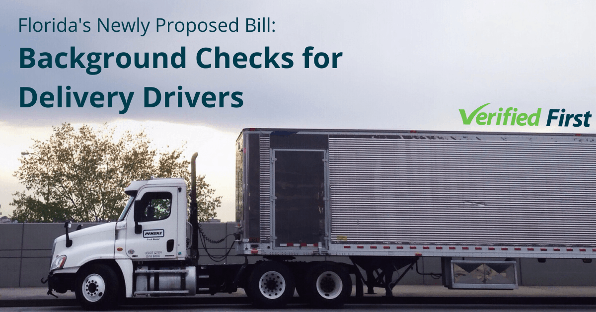 Florida Bill_ Background Checks for Delivery Drivers